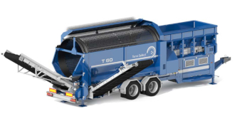 Terra Select T60 - mobile Anlage Recyclingmaschine